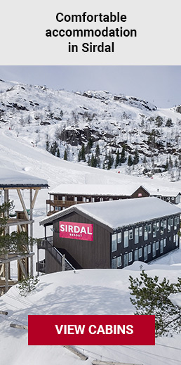 Accommodation Sirdal